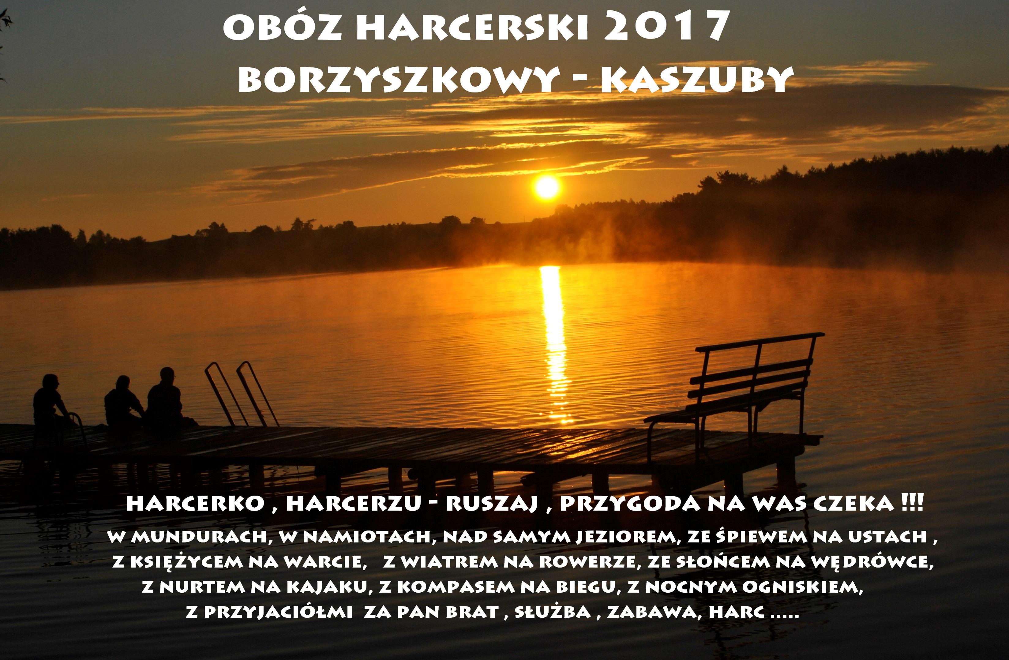 OBÓZ HARCERSKI 2017 !!!