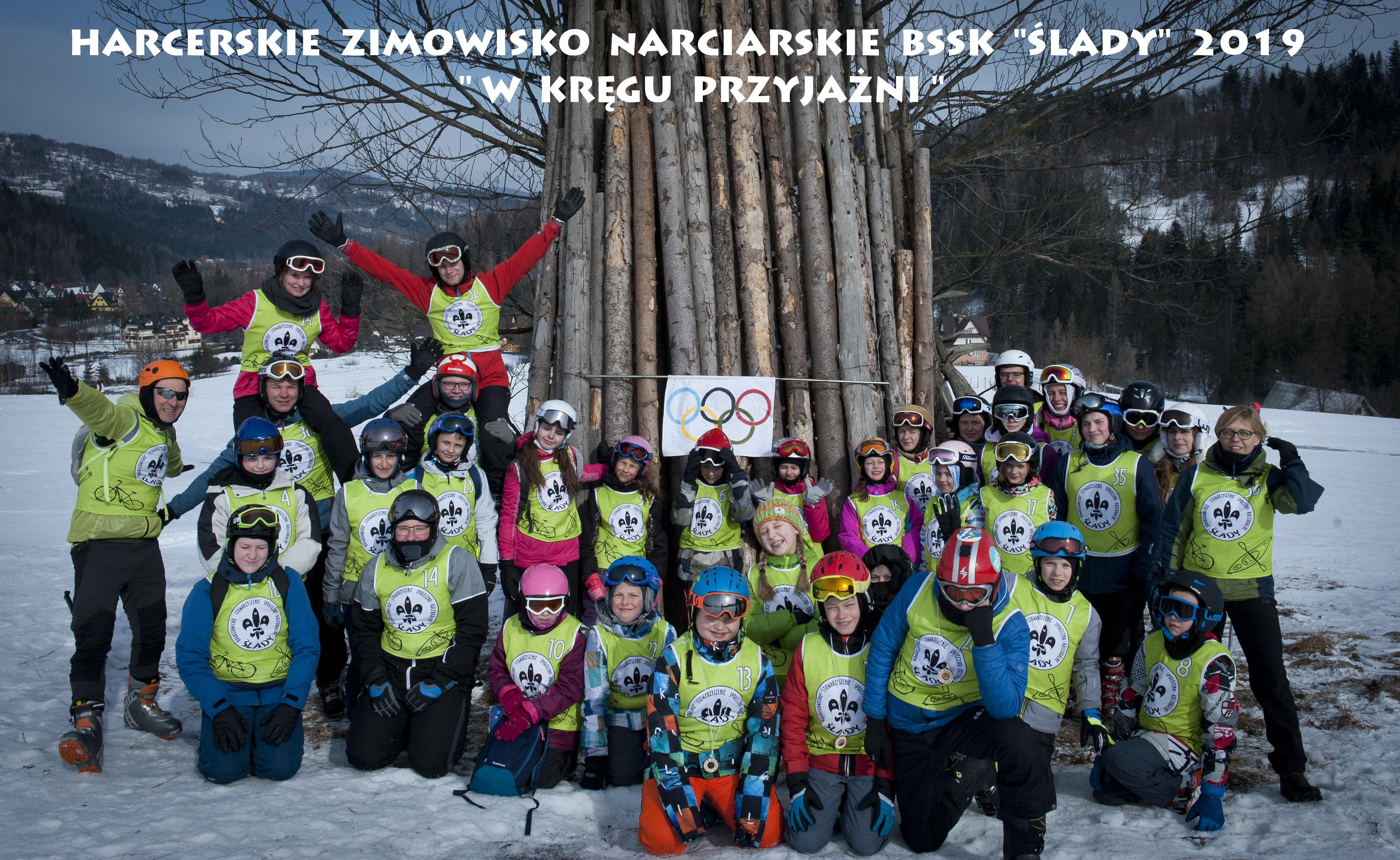 """Harcerskie Zimowisko Narciarskie BSSK """"Ślady"""" 2019"""