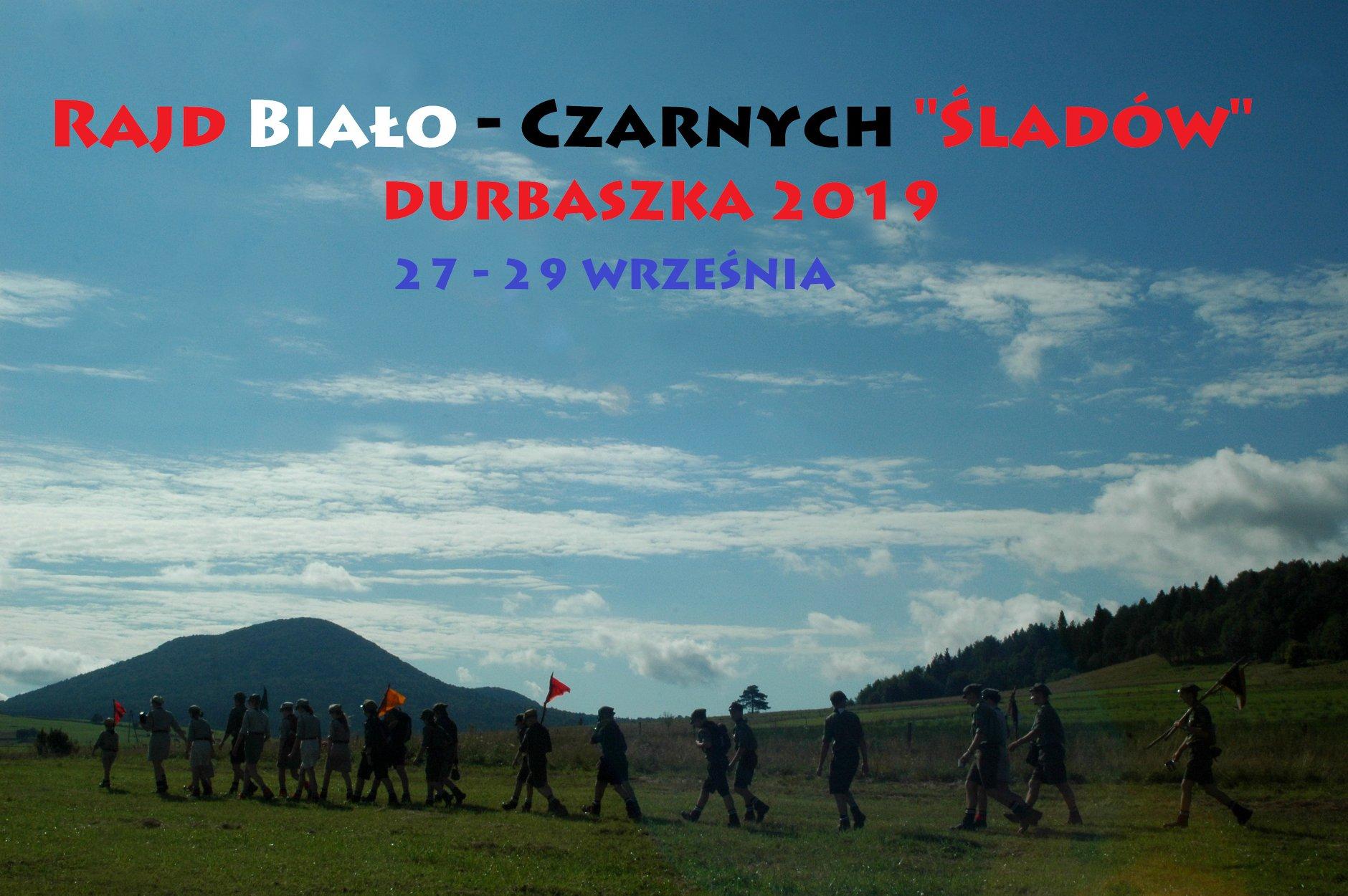 """II Rajd Biało – Czarnych """"Śladów"""" – Durbaszka 2019👣"""
